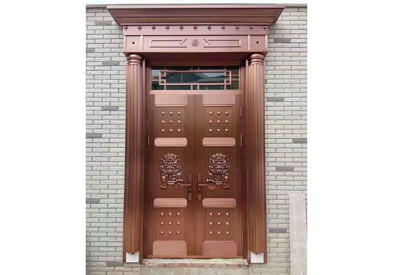 六里山路铜门安装